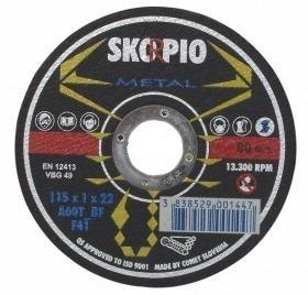 Řezný kotouč SKORPIO Standard Ø125 x 2,0 x 22,22 mm - na ocel