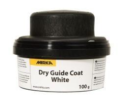 Suchý kontrolní pudr MIRKA 100gr. bílý + aplikátor