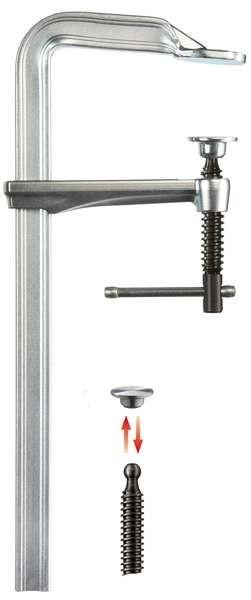 Celoocelová šroubová svěrka BESSEY GZ s kolíkovou rukojetí