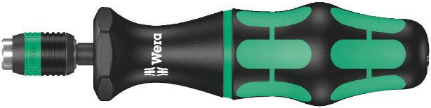 Momentový šroubovák s přednastaveným utahovacím momentem (2,5-29,0in.lbs.) řady Kraftform 7400 s rychloupínací hlavou Rapidator