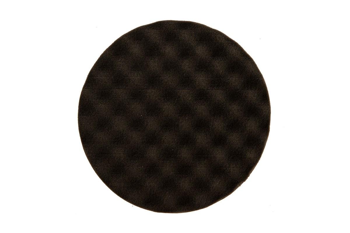 Leštící molitan MIRKA Ø 150 x 25mm, černý, vaflový