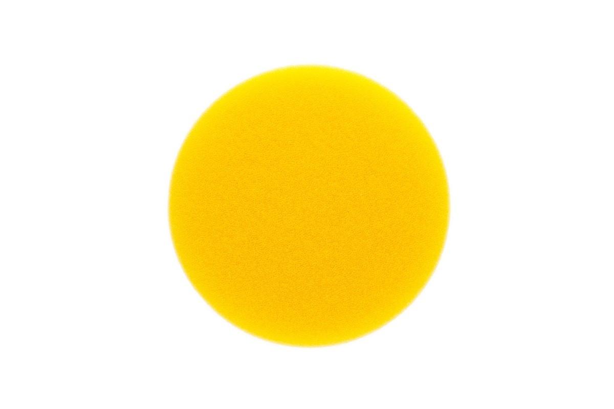 Leštící molitan MIRKA Ø 85 x 20mm, žlutý