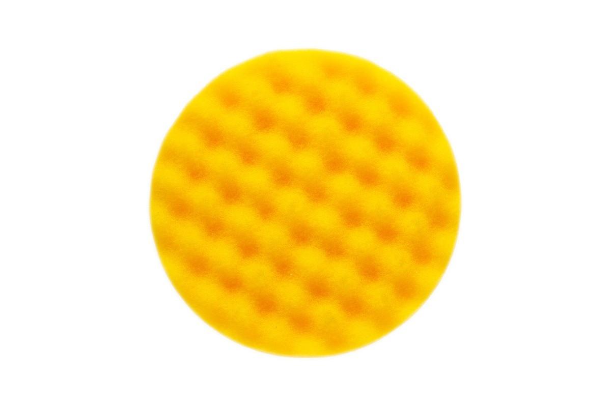 Leštící molitan MIRKA Ø 135 x 25mm, žlutý, vaflový