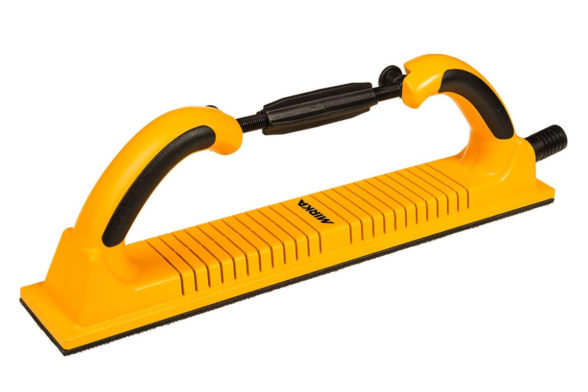 Flexibilní ruční hoblík MIRKA 70 x 400mm, suchozipový, 53 děr