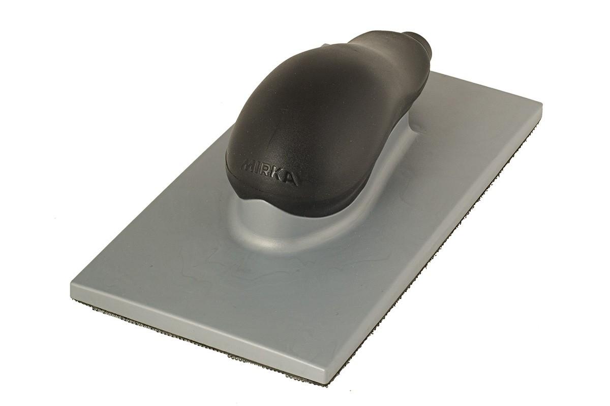 Ruční hoblík MIRKA 115 x 230mm, suchozipový, 36 děr