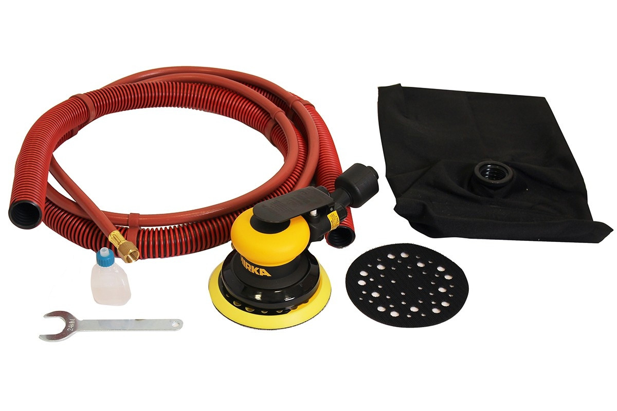Vzduchová bruska MIRKA ROS 550DB Ø125mm, zdvih 5,0mm, samoodsávání