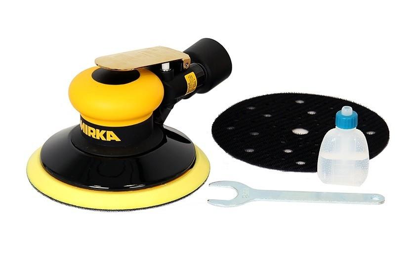 Vzduchová bruska MIRKA ROS 650CV Ø150mm, zdvih 5,0mm, centrální odsávání