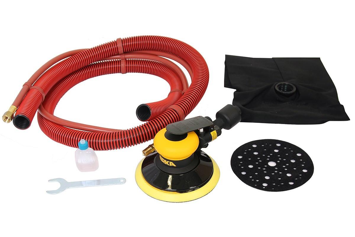 Vzduchová bruska MIRKA ROS 650DB Ø150mm, zdvih 5,0mm, samoodsávání