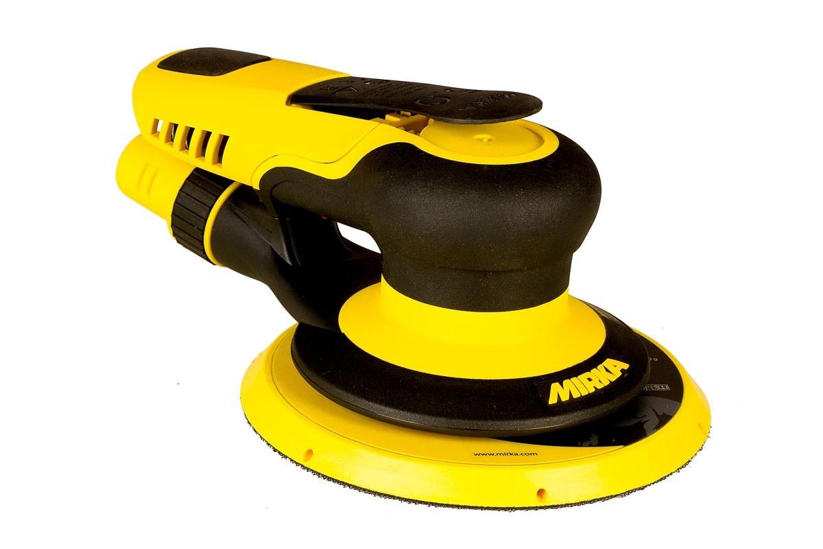 Vzduchová bruska MIRKA PROS 650CV Ø150mm, zdvih 5mm, centrální odsávání