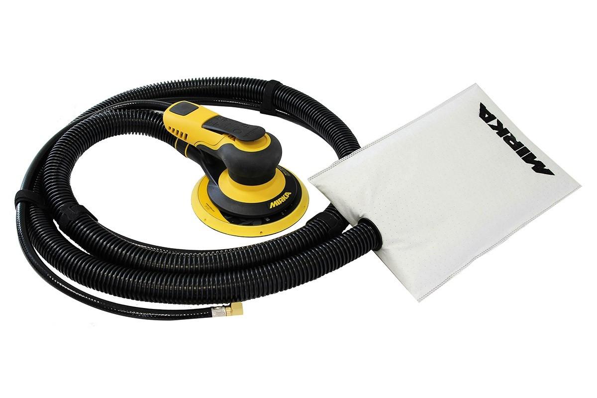 Vzduchová bruska MIRKA PROS 650DB Ø150mm, zdvih 5mm, samoodsávání