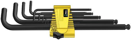 Wera sada zástrčných klíčů 950/13 Hex-Plus Imperial 1, palcová, BlackLaser, 13 dílná
