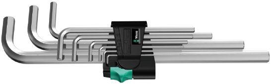 Wera sada zástrčných klíčů 950/9 Hex-Plus 2, metrická, chromovaná, 9 dílná