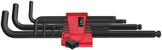 Wera sada zástrčných klíčů 950/9 Hex-Plus 6, metrická, BlackLaser, 9 dílná
