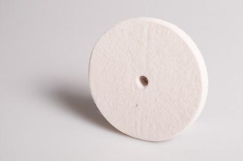 Filcový leštící kotouč Ø100x10xØ10 0,60 g/cm3
