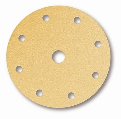 Brusný výsek MIRKA Gold Ø 150mm - 8 + 1 otvorů