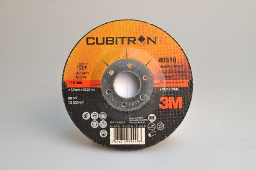 Brusný kotouč 3M Cubitron II Ø115 x 7,0 x 22,22 mm