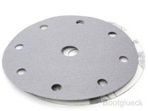 Brusný výsek MIRKA Q.Silver Ø 150mm - 8 + 1 otvorů