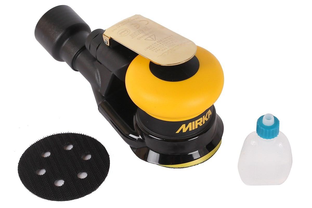 Vzduchová bruska MIRKA ROS 325CV Ø77mm, zdvih 2,5mm, centrální odsávání