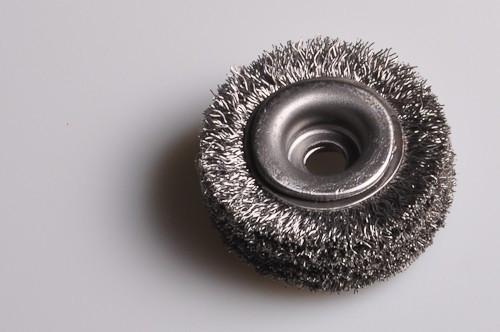 Kotoučový kartáč 50x35x18/8mm ocel 0,25 vlnitá