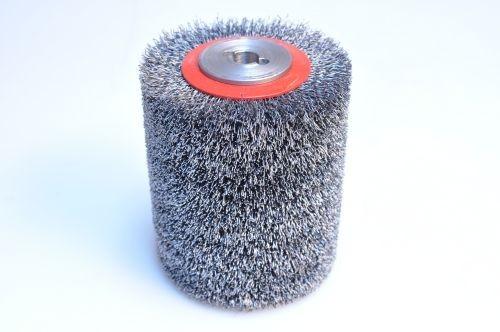 Kombinovaný kartáč válec 95x100x30mm nylon 1,4mm SiC 80/ocel 0,3 mm