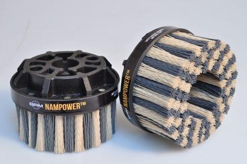 Kartáč NAMPOWER 100x38mm bodový, nylon SiC 320