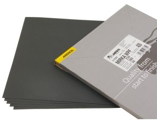 Brusný arch voděvzdorného papíru Mirka WPF 230 x 280mm