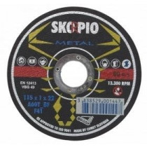 Řezný kotouč SKORPIO Standard Ø125 x 1,0 x 22,22 mm - na ocel