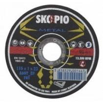 Řezný kotouč SKORPIO Standard Ø125 x 1,6 x 22,22 mm - na ocel