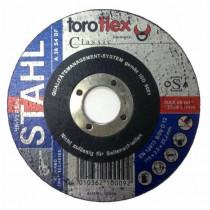 Brusný kotouč TOROFLEX Classic Ø230 x 6,0 x 22,22 mm - na ocel