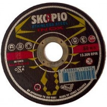 Řezný kotouč SKORPIO Standard Ø125 x 1,0 x 22,22 mm - na nerez