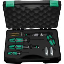 Wera montážní set 7443/61/9 pro systémy kontroly tlaku v pneumatikách, 9 dílný