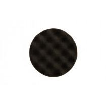 Leštící molitan MIRKA Ø 85 x 25mm, černý, vaflový