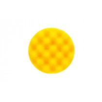 Leštící molitan MIRKA Ø 85 x 25mm, žlutý, vaflový