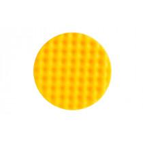 Leštící molitan MIRKA Ø 150 x 25mm, žlutý, vaflový