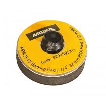 Podložný talíř MIRKA Ø 32mm, tvrdý, s rychlospojkou, pro samolepící brusivo