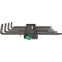 Wera sada dlouhých zástrčných klíčů 967/9 TX XL 1 pro šrouby s vnitřním profilem TORX, 9 dílná