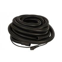 Odsávací hadice s integrovaným elektrickým kabelem 230V, Ø 27mm x 10m