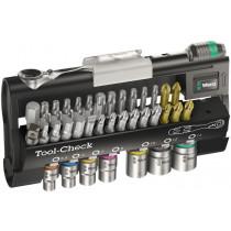 Wera ráčnová sada Zyklop Mini Tool-Check 1 SB, 38 dílná