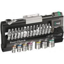 Wera ráčnová sada Zyklop Mini Tool-Check 1 Automotive, 38 dílná