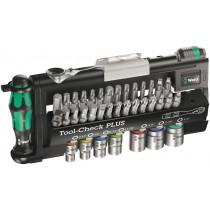 Wera ráčnová sada Zyklop Mini Tool-Check Plus Imperial, 39 dílná