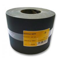 Role voděvzdorného brusného papíru Mirka WPF 125mm x 100m