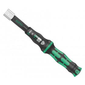 Wera momentový klíč Click-Torque X1 o délce 283mm pro nástrčné nástroje s upnutím 9x12mm, nastavitelný moment 2,5 až 25 Nm