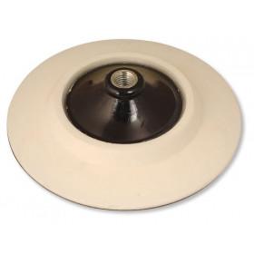 Měkký podložný talíř pro leštičky Ø 165mm, závit M14