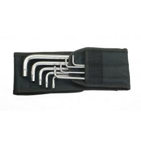 Wera sada úhlových klíčů 3950/9 Hex-Plus Imperial Stainless 1, palcová, nerezová ocel, 9 dílná