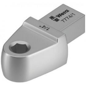 """Wera nástrčný nástroj 7774/1 s adaptérem na bity 1/4"""" pro upnutí 9x12mm"""