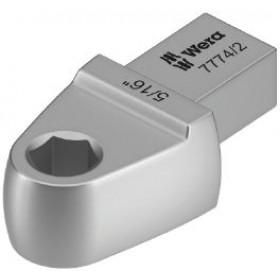 """Nástrčný nástroj 7774/2 s adaptérem na bity 5/16"""" pro upnutí 9x12mm"""