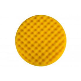 Leštící molitan MIRKA Ø 200 x 35mm, žlutý, vaflový