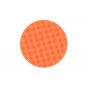 Leštící molitan MIRKA Ø 150 x 25mm, oranžový, vaflový