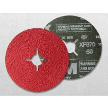 Ceramic fiber disc VSM XF870 Ø 125 x 22,22mm